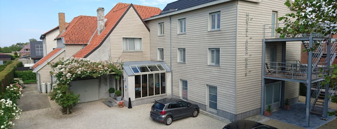 Hotel in Bredene at the Belgium coast